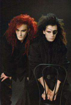 Pete Burns & Steve Coy of Dead or Alive