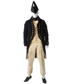 1800 french uniform men cosplay | BROWSE WARDROBE Royal Marines Uniform, Royal Navy Uniform, Men In Uniform, Navy Uniforms, Military Uniforms, Larp, Moon Costume, Pirate Wedding, Warrant Officer