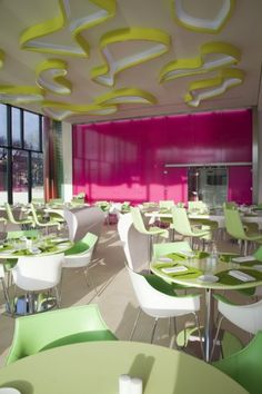 Dining at the  Nhow Hotel  in Berlin  Nhow's restaurant offers delicious food in an elegant atmosphere...