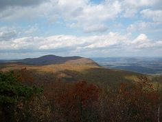 Bear Mtn., CT. Highest point in CT. Great fall hiking--beautiful!