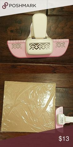 large paper punch geometric shape edger. scrapbooking. crafts Accessories