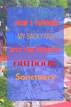 Miami Living, Outdoor Movie Nights, Outdoor Activities For Kids, Me Time, Self Care Activities, Slow Living, Outdoor Spaces, Backyard, Gardening