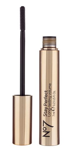 Boots No7 Stay Perfect long lasting volume mascara via Certified Fabulous