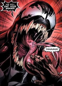 How about that Venom trailer though? I was on the fence for a while but Im such a fan of TomHardy so I was giving it a chance but now Im hype for this movie! Venom Comics, Marvel Venom, Marvel Villains, Marvel Comics Art, Marvel Heroes, Marvel Characters, Marvel Universe, Comic Books Art, Comic Art