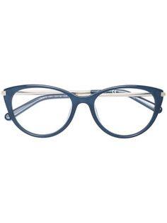 oval CAT EYE frame glasses