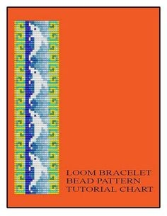Bead Loom Dolphins Bracelet Pattern Chart PDF Multi Discount Coupon CODES! on Etsy, $4.50