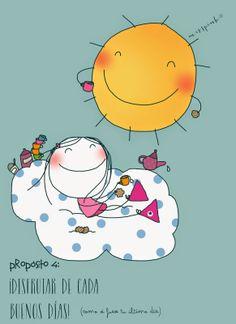 Disfrutar de cada.  Buenos día                                                                           Propósito nº4 by misspink®