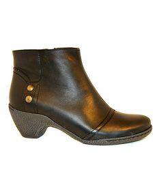Love this Softy Nero Leather Boot - Women on #zulily! #zulilyfinds
