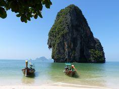 Crystal clear waters of Krabi, Thailand