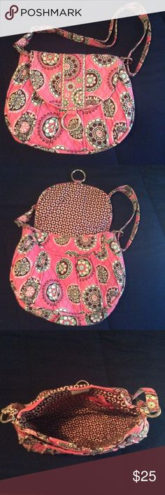Spotted while shopping on Poshmark: Vera Bradley Saddle Up Purse in Cupcakes…