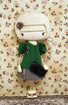 Los broches muñeca de Sago, me chiflan!!!! i love this lol i want one