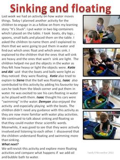 learning story example for babies Play Based Learning, Learning Through Play, Learning Centers, Early Learning, Preschool Literacy, Kindergarten Science, Science Activities, Science Week, Science Ideas