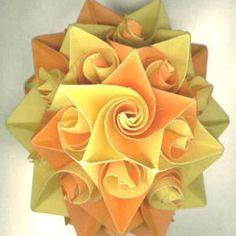 227 Best Origami Kusudamas Flowers Images Modular Origami Origami