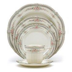 Noritake China-  pink & gray.  The first set of dishes my grandmother bought me.  I was 16!