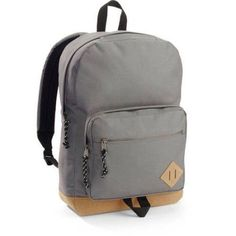 Faded Glory Dome Backpack, Gray