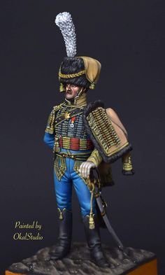 Etat Major, Zinn, Napoleonic Wars, Vignettes, Warriors, Empire, Miniatures, Military, France