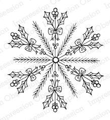 Holly Snowflake
