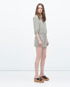 Image 1 of SPOTTED JUMPSUIT from Zara