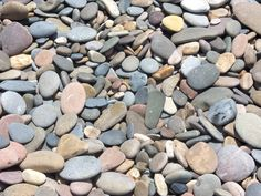 stone from the beach