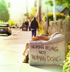 Human Being, Not Human Doing by Thomas Hawk, via Flickr
