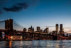 Brooklyn Bridge - blue hour #NewYork