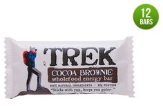 Trek Cocoa Brownie bars. Natural. Packed with a good balance of fibre, protein and carbs. Can't go wrong.