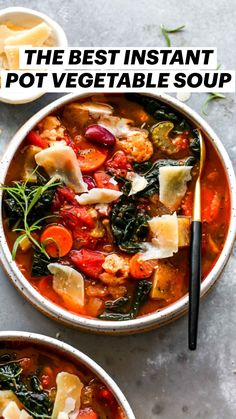 Cooker Recipes, Soup Recipes, Vegetarian Recipes, Dinner Recipes, Healthy Recipes, Delicious Recipes, Healthy Food, Veggie Soup, Vegetable Seasoning