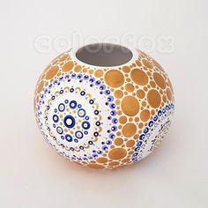Mandala Dots, Fox Art, Dot Painting, Handmade, Diy, Color, Design, Instagram, Plastering