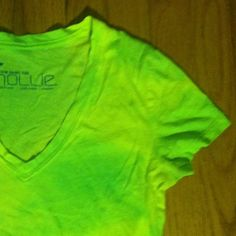 Neon Tie-Dye Shirt True highlighter green and yellow. In great condition! Only worn twice! 100% Cotton. Bought from PacSun. PacSun Tops