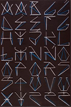 Street Fonts by PAÍSM , via Behance