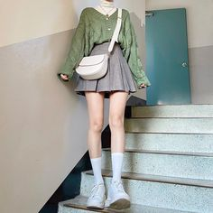 Kpop Outfits, Edgy Outfits, Cute Casual Outfits, Fashion Outfits, Kawaii Fashion, Cute Fashion, Retro Fashion, Style Fashion, Korean Outfit Street Styles