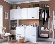Laundry room solutions Closetstorage.com