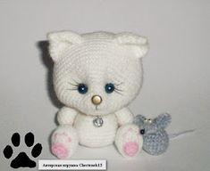Knit amigurumi: Kitten amigurumi - Free Pattern in Russian (webarchive)