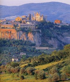 Orvieto, Italy, between Rome and Florence .so many wonderful memories. I'd go back in a heart beat. Italy Vacation, Italy Travel, Places To Travel, Places To See, Empire Romain, Umbria Italy, Italy Holidays, Regions Of Italy, European Travel