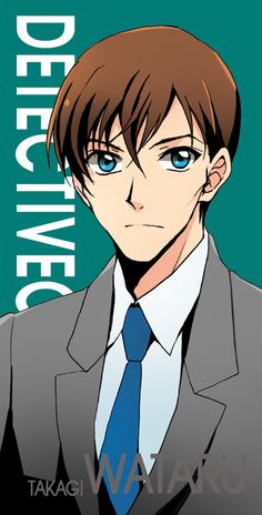 Detective Conan Wataru Takagi Police