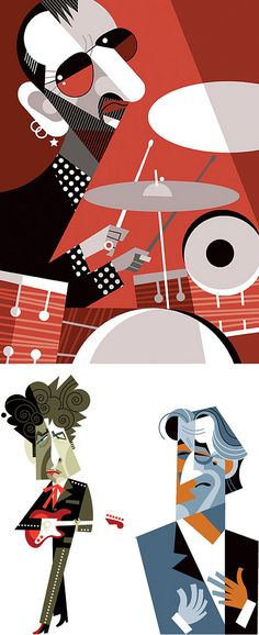 Character Illustrations by Pablo Lobato | Inspiration Grid | Design Inspiration