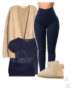 Untitled #346 by tdgaaf on Polyvore featuring H&M, WearAll, Prada and UGG Australia