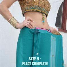 Sari Pleat Maker, How to wear Saree using Saree Pleat Maker - Sari Saheli