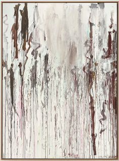 Cy Twombly. Untitled No.3, 2004. 99.25 cm x 72.75 cm .