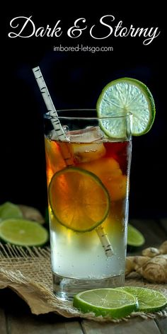 Dark and Stormy. A d