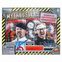 I'm learning all about Scientific Explorer MythBusters Power of Air Pressure Ages 9 and up at @Influenster!