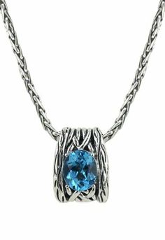 Effy Jewlery Balissima Lagoon Blue Topaz Pendant, 5.70 TCW Effy Jewelry. $250.00. Limited Lifetime Warranty. Free Shipping on All Online Orders Over $200. Elegant, Luxury Style Gift Packaging. 30 Day Returns, Money Back Guarantee