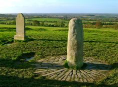 "The legendary Lia Fáil (""Stone of Destiny"") for which the High Kings were crowned at the Hill of Tara!"
