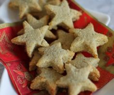Paleo Vanilla Shortbread (gluten-free)  Perfect for Christmas