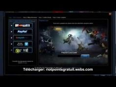 Riot Point Gratuit - Comment Avoir des Riot Points Gratuit sur League of Legends 2013