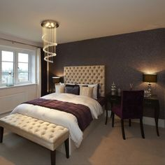 This stunning, sultry bedroom is from our showhome at the Faulkners Place development in Harpenden, pop by to take a peek!