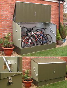 ... bike shed on Pinterest | Bike shed, Bicycle storage and Bike storage