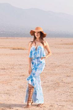 Vestido Flores $2,249 Sombrero $420 <3