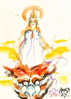 【龍の頭の上に乗る者】  http://ameblo.jp/kaiungaka-katonagomu/entry-11548169514.html