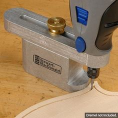 Purfling/Soundhole Router Guide
